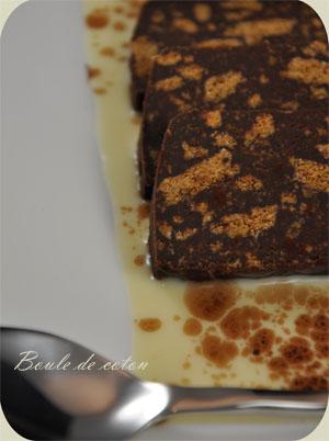 Terrine chocolat spéculos 2